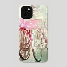 Two Bicycles - Phone Case by Chintami Ricci