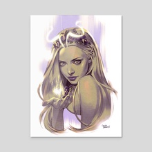Fairy - Acrylic by Belén Ortega