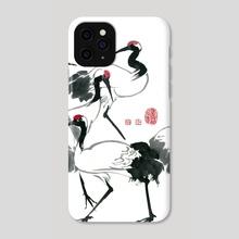 Cranes - 6 - Phone Case by River Han
