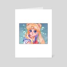 I Need Some Moon Power - Art Card by Hyemin Yoo