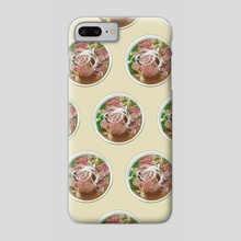 Pho Bo - Phone Case by Itadaki_Yasu
