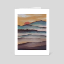 Layers - Art Card by I Shan Lin