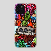 Random Nonsense #4 - Phone Case by Marc Kusnierz
