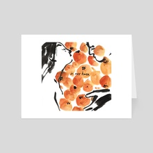 I Dreamt of Oranges 4/6 - Art Card by Gracey Zhang