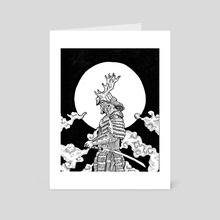 Samurai v2 - Art Card by Jamie B