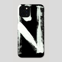Macromannic Runes O Othil 002 Inverted - Phone Case by Wetdryvac WDV
