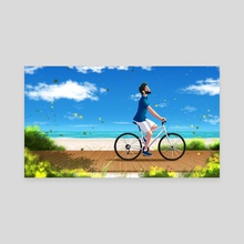 Summer! - Canvas by Rafael Andrade