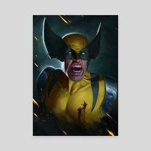 The Wolverine  - Canvas by Aaron Bartling
