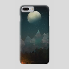 camping - Phone Case by Yoon-hee Kim