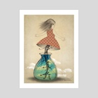 Growing up - Art Print by Lisinka ★