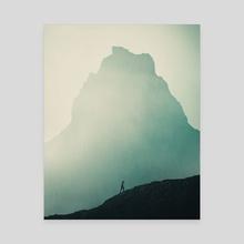 The Hiking - Canvas by Bayu  Adji Purnomo