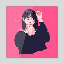 Kkura - Acrylic by Jamie Ang