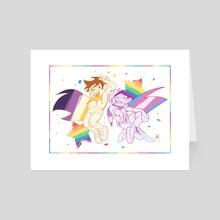 pride! - Art Card by RAD