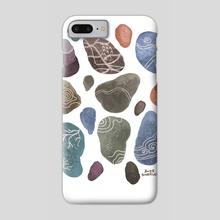 Stones - Phone Case by Aude Shattuck