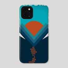 L'Alpe D'huez - Phone Case by Jeremy Harnell