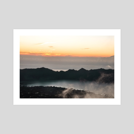 Mount Batur // First Light (ii) by Helena Homsi