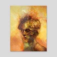 Ose - Acrylic by Jim Pavelec