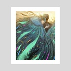 Feathers - Art Print by Rovina Cai