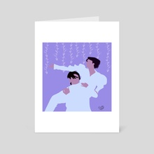 Jikook Classic - Art Card by Tize Howes