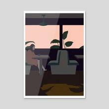 solitude VI - Acrylic by Carolina Prata