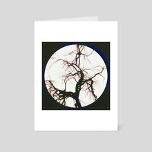 ready moon - Art Card by drewmadestuff