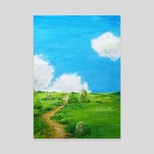 Spirited Away study II - Canvas by Margarita Krestinina