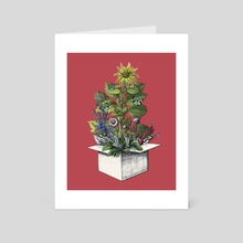 CHRISTMAS TREE - Art Card by Gloria Sánchez