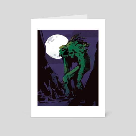 Swamp Thing by Mal Jones