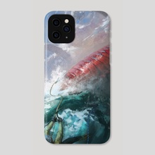 Rude Dragon - Phone Case by Marcel Nowotny