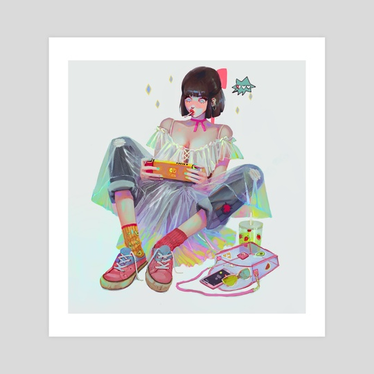 gamer by Helen Highton