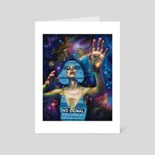 White noise - Art Card by Olesya Umantsiva