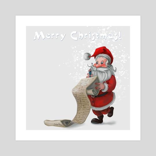 Santa's big List by Delia Mihai