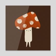 Mush Lad - Acrylic by Bee