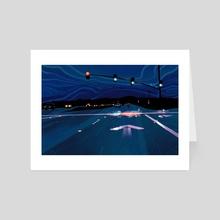 Night Drive - Art Card by Eddy Sailer