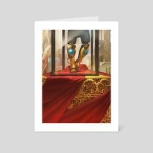 Lightning Greaves - Art Card by Slawomir Maniak