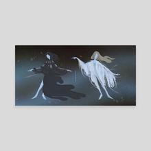 Matters - ionnalee + zola jesus - Canvas by James Jeffers