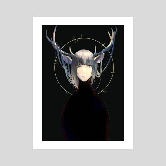 The deer by Kay IIZUKA