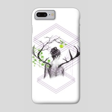 Grow - Phone Case by e Drawings38