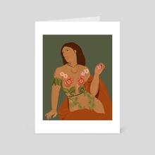 Primavera  - Art Card by Thalia Roman