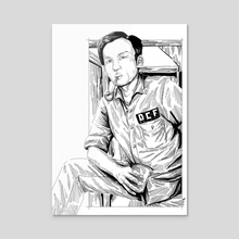 DCF - Frank - Acrylic by Chuckuddin