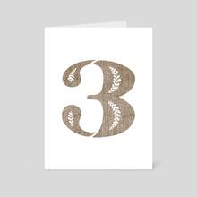 3 Cap - Art Card by Livy  Long
