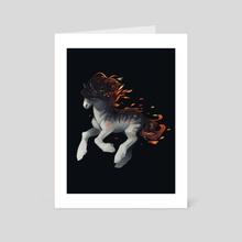September - Iri-bancha - Art Card by Heather Penn