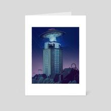 Area 9000 [#2] - Art Card by Miel Vandepitte
