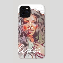 Lizzo - Phone Case by Menah M