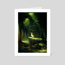 Prince of the Forest - Art Card by Chad Harper