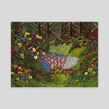 Nap - Canvas by Michelle Hahm