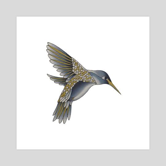 Hummingbird by Adam Lindsay Honsinger