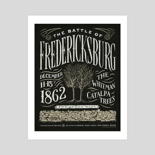 The Battle of Fredericksburg by The Union Archive