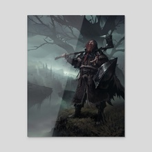 Ranger - Acrylic by Daryl Mandryk