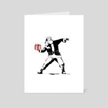 Gift Thrower - Art Card by Sam Hudson